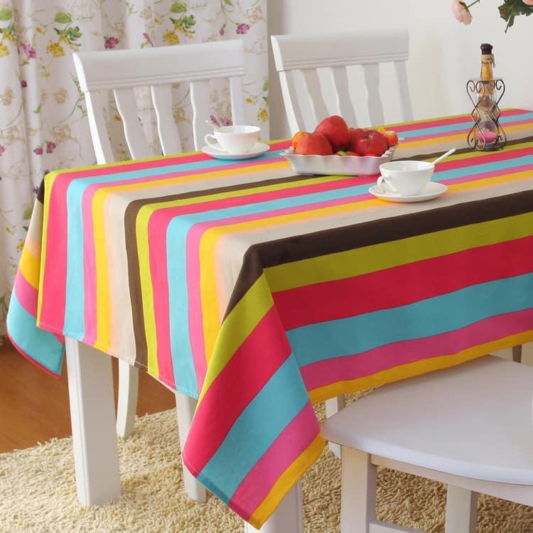 Скатерть на стол из ткани